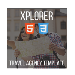 Xplorer - HTML Travel Agency Template