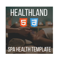 Healthland - HTML One-Page SPA Template