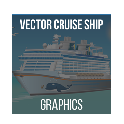 Vectorial Cruise Sailing Ship