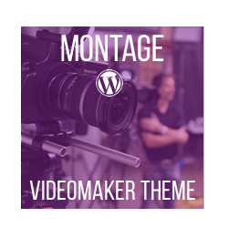 Montage - Video-Maker WordPress Theme