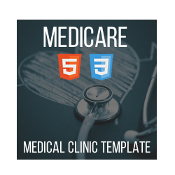 Medicare - HTML Medical Template